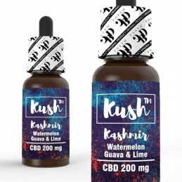Liquid Kush™ Standard CBD 200mg 10ml - KASHMIR - 1 -  - 23,99zł