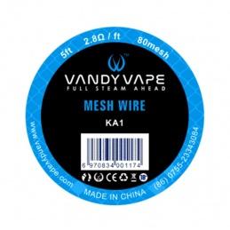 Drut VANDYVAPE Mesh wire KA1 80mesh 5ft - 1 -  - 19,99zł