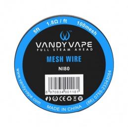 Drut VANDYVAPE Mesh wire N80 100mesh 5ft - 1 -  - 19,99zł