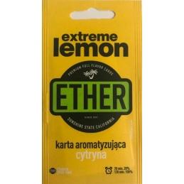 Karta/wkładka aromatyzująca ETHER - Cytryna - 1 -  - 1,39zł