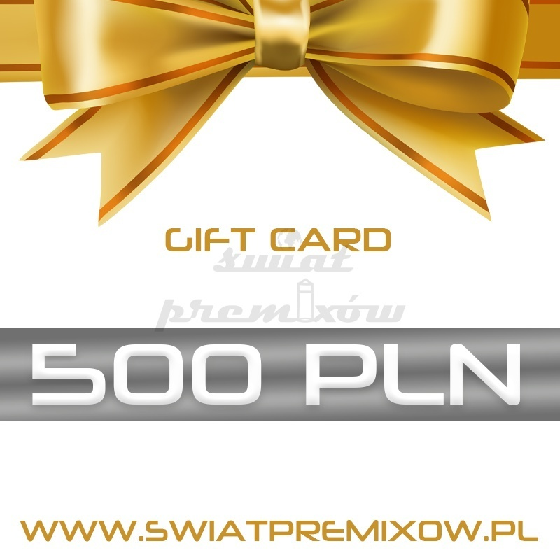 Karta podarunkowa 500 zł - 1 -  - 500,00zł