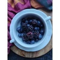 Niebieskie owoce